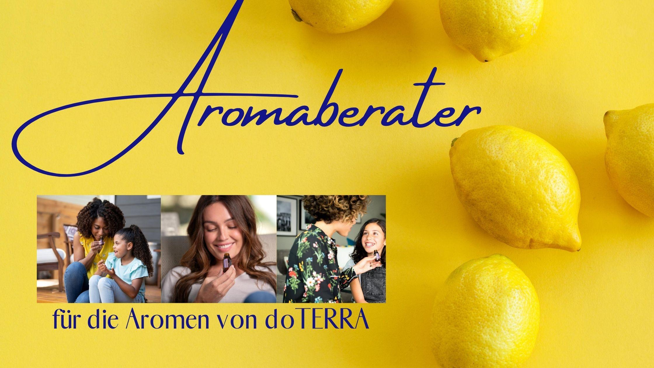 Aromaberater für die Aromen von doTERRA